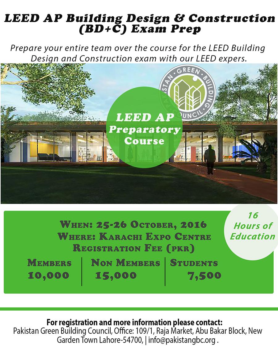 LEED workshop Flyer